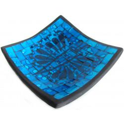 Mísa terracota - Skleněná mozaika / M15-4