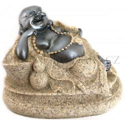 Buddha Feng Shui - Soška Pískovec 1/10