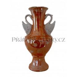 Váza Antika - 2 labutě