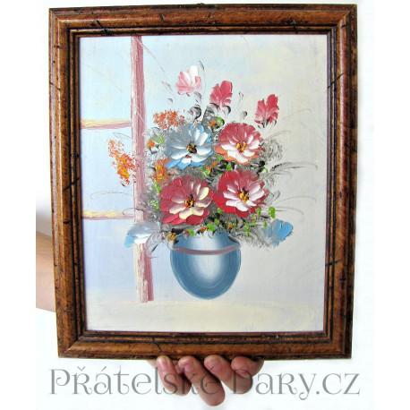 Obraz - Květy 1 - ručně malovaný