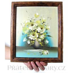 Obraz - Květy 2 - ručně malovaný