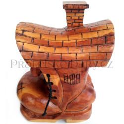 Bota - Originální Dřevěný Domek