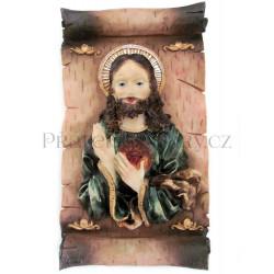 Ježíš Kristus - plastika 13/23cm