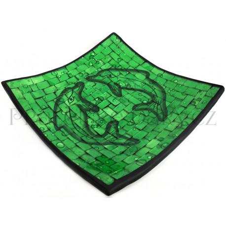 Mísa Terracota - Delfín skleněná mozaika / DZ246