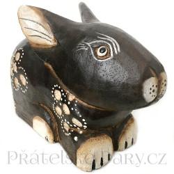 Krásný Zajíc - Zajíček ruční práce / Dřevo