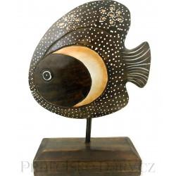 Krásná dekorace - Ryba / Dřevo 20x30cm
