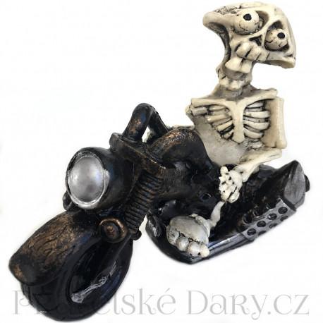 Šílený motorkář - Kostlivec