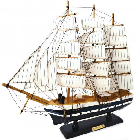 Loď Plachetnice dřevěný model Confection / 50cm