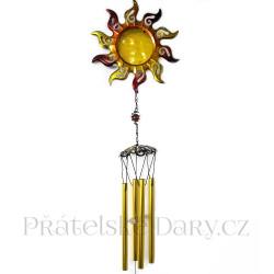 Krásná Zvonkohra Slunce / Kov 85cm