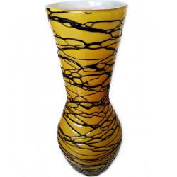 Krásná Váza Sklo 39 cm