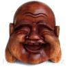 Buddha hlava / Dřevo 13cm