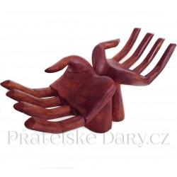 Ruce - originální moderní dekorace / Dřevo 30cm
