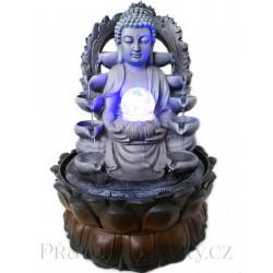 Luxusní Pokojová Fontána Buddha / 37 cm