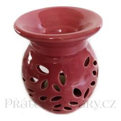 Aromalampa Váza květ Rose / Keramika